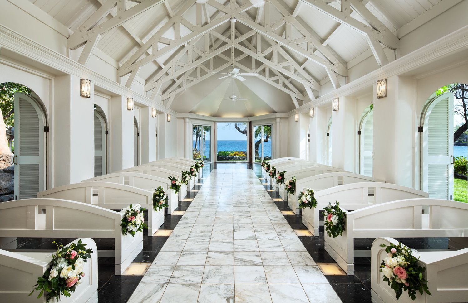 Kona Oceanfront Wedding Resorts - Bayside Chapel