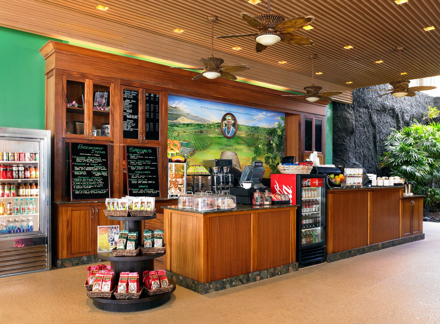 Big Island Resort Hotels - Keauhou Bay Coffee Company